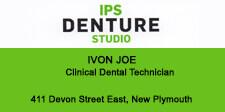 Ivon Joe at IPS Denture Studio